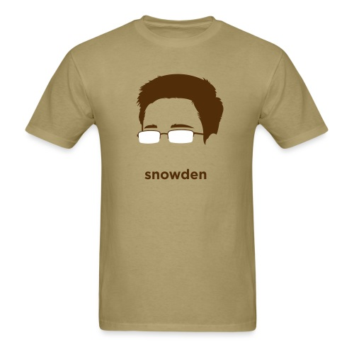[edward-snowden] - Men's T-Shirt