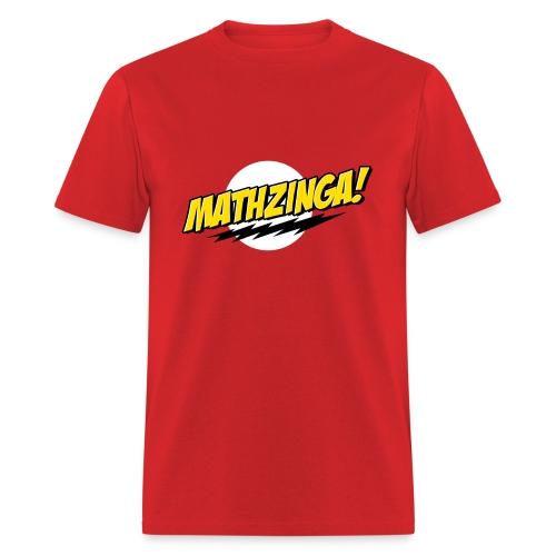 Mathzinga! - Men's T-Shirt
