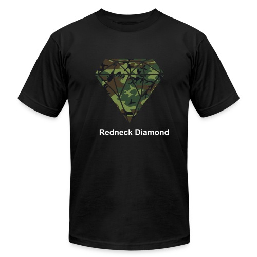 Redneck Diamond - Men's Fine Jersey T-Shirt