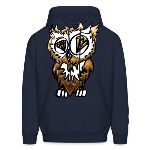 GOLDEN OWL - Men's Hoodie