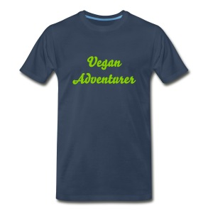 Vegan Adventurer men's tee - Men's Premium T-Shirt