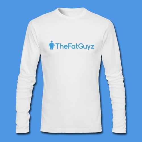 TheFatGuyz Official Long Sleeve - Men's Long Sleeve T-Shirt by Next Level