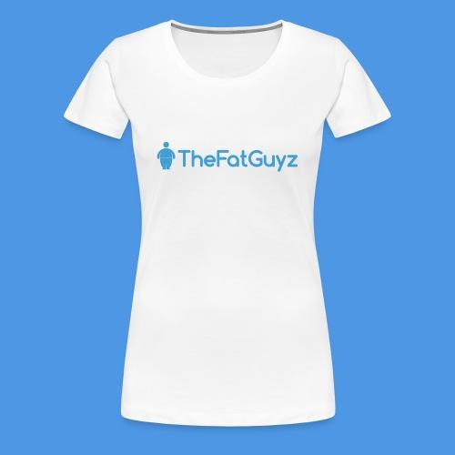 TheFatGuyzOfficial T-Shirt (Women) - Women's Premium T-Shirt