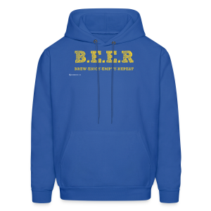 BEER Brew Enjoy Empty Repeat Men's Hoodie - Men's Hoodie