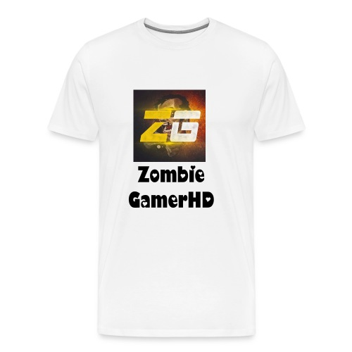 Playeras Zombie GamerHD - Men's Premium T-Shirt