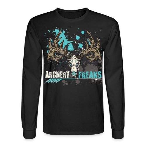 Laidies Archery Freaks - Men's Long Sleeve T-Shirt