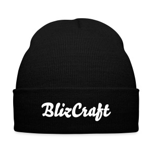 BlizCraf hat #2 - Knit Cap with Cuff Print