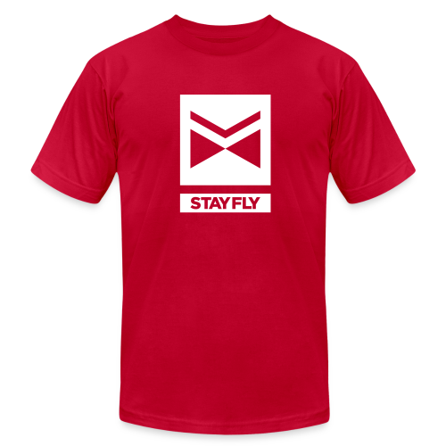 Stay Fly 1 Color - Men's Fine Jersey T-Shirt