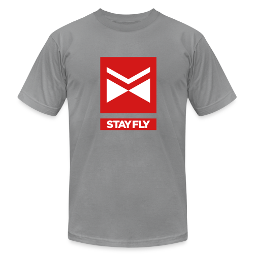Stay Fly 2 Color - Men's  Jersey T-Shirt