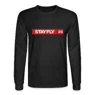 Long Sleeve Shirts ~ Men's Long Sleeve T-Shirt ~ Stay Fly 2 Color LONG sleeve