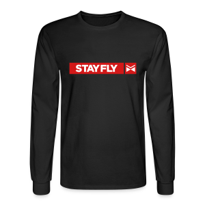 Stay Fly 2 Color LONG sleeve - Men's Long Sleeve T-Shirt