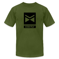 T-Shirts ~ Men's T-Shirt by American Apparel ~ Stay Fly 1 Color