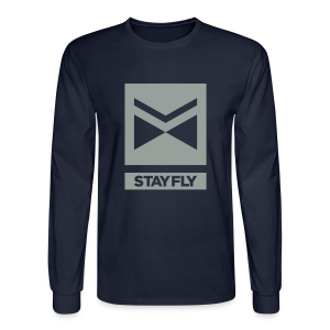 Stay Fly 1 Color LONG sleeve - Men's Long Sleeve T-Shirt