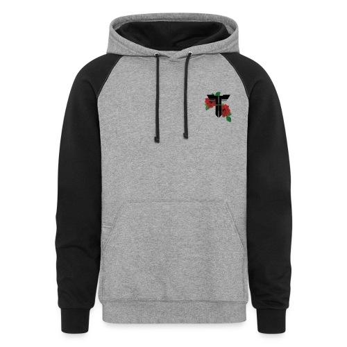 Trap simple hoodie - Colorblock Hoodie
