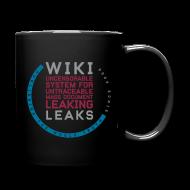 Mugs & Drinkware ~ Full Color Mug ~ WikiLeaks Supporter (incl $25.50 donation)