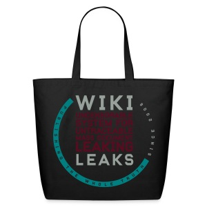 WikiLeaks Supporter (incl $23.20 donation) - Eco-Friendly Cotton Tote