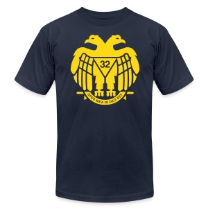 Freemason Scottish Rite 32 - Men's Fine Jersey T-Shirt