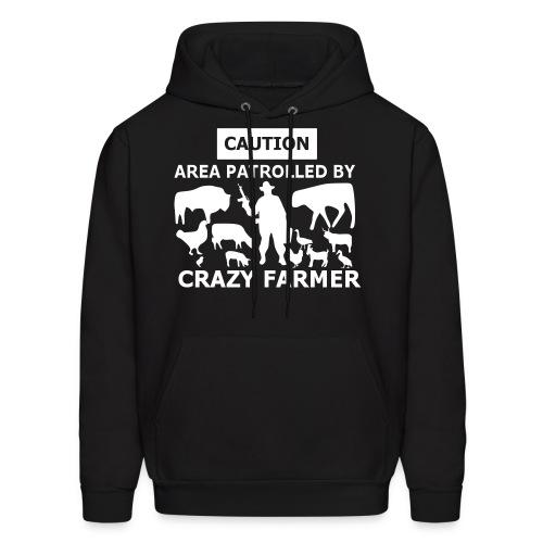 Crazy Farmer - Mens Hoodie - Men's Hoodie