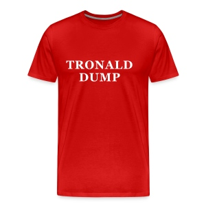 Tronald Dump - Mens Red - Men's Premium T-Shirt