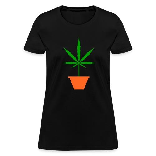 Pot in pot black Women's T-Shirt - Women's T-Shirt