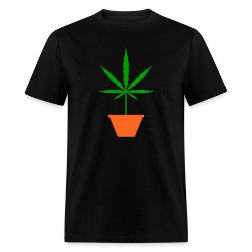 Pot in pot black Men's T-Shirt - Men's T-Shirt