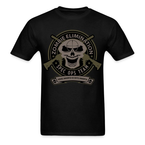 Zombie Elimination Ops - Full - Men's T-Shirt