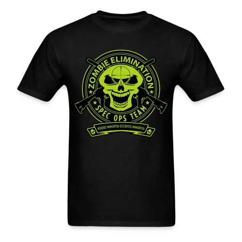 Zombie Elimination Ops - NVG - Men's T-Shirt