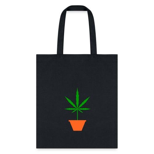 Pot in pot black Tote Bag - Tote Bag