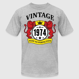Vintage 1974 Aged to Perfection T-Shirts - Men's T-Shirt by American Apparel