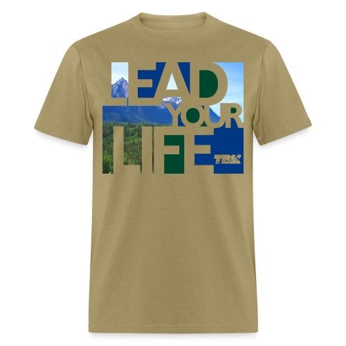 TRK Outdoors Lead Life Scenic / Men's - Men's T-Shirt