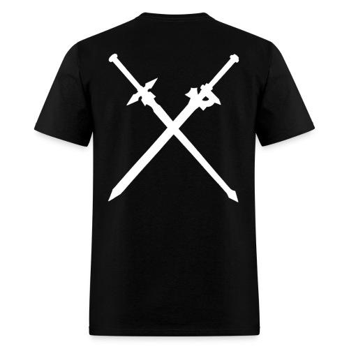 Kirito with text - Men's T-Shirt
