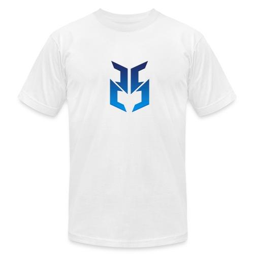 Blue logo design - Men's Fine Jersey T-Shirt