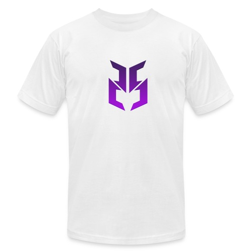 Purple logo design - Men's Fine Jersey T-Shirt