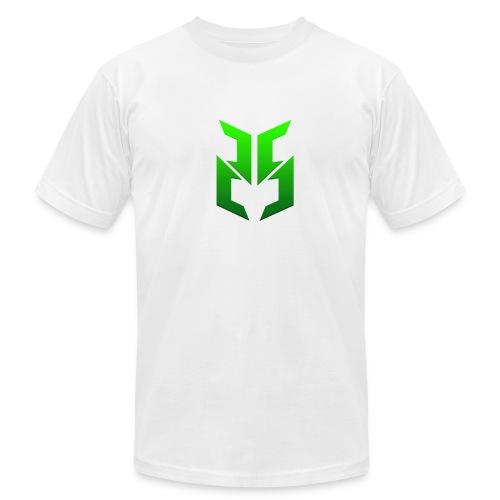 Green logo design - Men's Fine Jersey T-Shirt