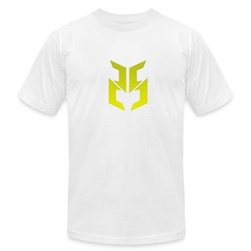 Yellow logo design - Men's Fine Jersey T-Shirt