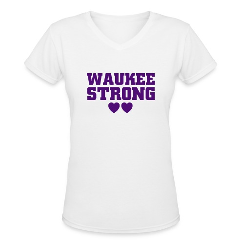 Women's V-Neck Tee - Women's V-Neck T-Shirt