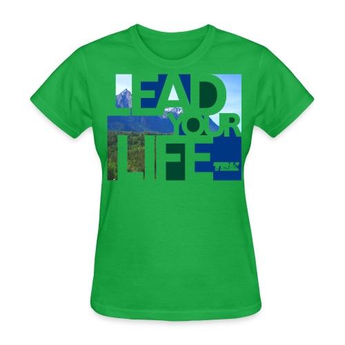TRK Outdoors Lead Life Scenic / Women's - Women's T-Shirt