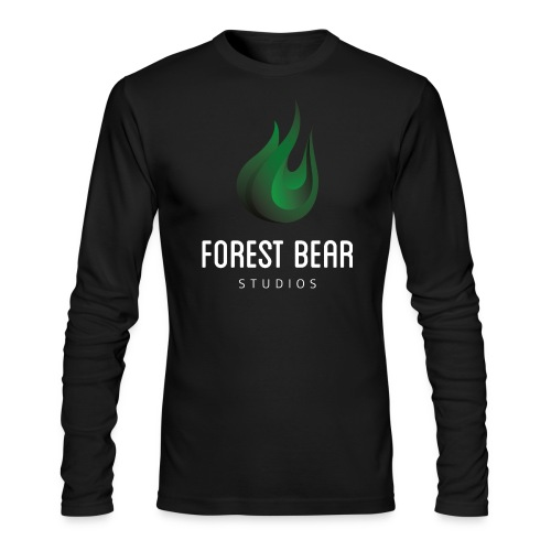 Forest Bear Logo Long Sleeve - Men's Long Sleeve T-Shirt by Next Level