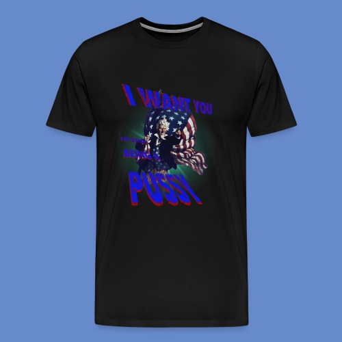 I want you 3x and up - Men's Premium T-Shirt