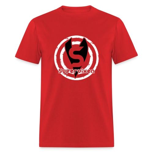 Unisex Bullseye Black and White - Men's T-Shirt