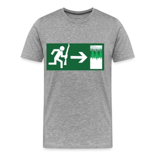 Go innawoods - Men's Premium T-Shirt