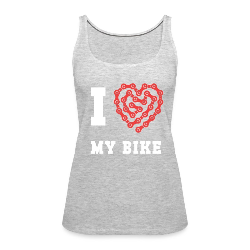 Cyclists I Love My Bike Cycling T Shirt Tank Top Spreadshirt