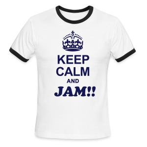 Jam Stand of Maine Ringer T - Men's Ringer T-Shirt