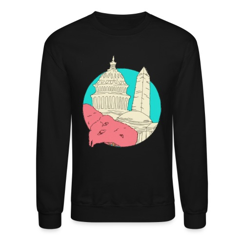 My City Collection - Washington, DC (Unisex) - Crewneck Sweatshirt