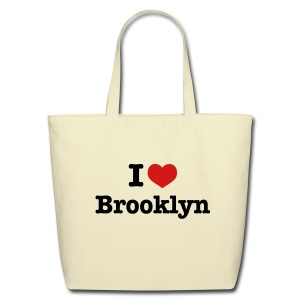 I Heart Brooklyn Tote Bag - Eco-Friendly Cotton Tote