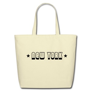 New York Stars Tote Bag - Eco-Friendly Cotton Tote