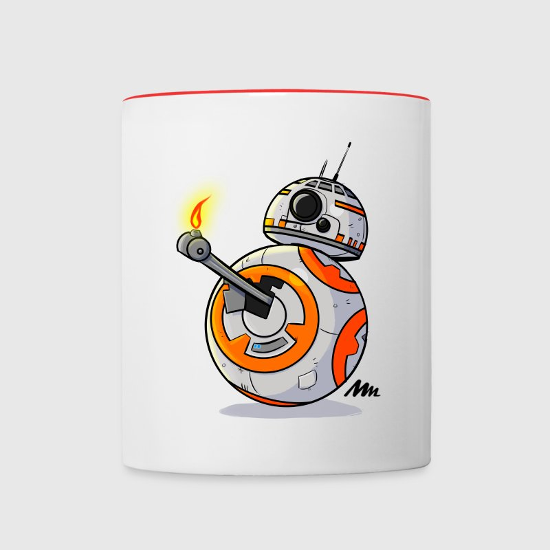 BB8 cup - Contrast Coffee Mug