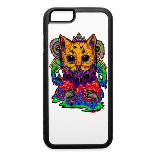 Trippy Cat Rubber iPhone 6 Case - iPhone 6/6s Rubber Case