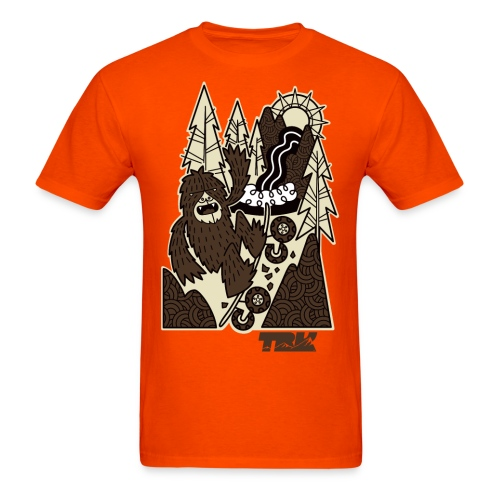 TRK Outdoors Mountain Board Bigfoot / Men's - Men's T-Shirt