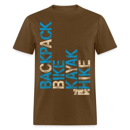 TRK Outdoors Backpack, Bike, Kayak, Hike / Men's - Men's T-Shirt